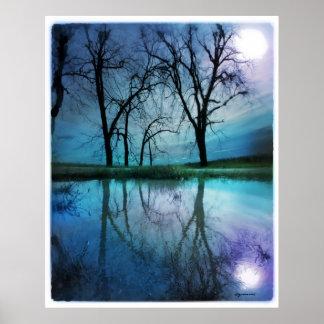 Night sky , poster