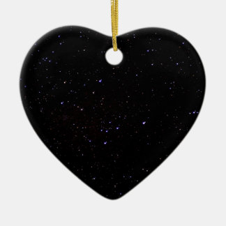 Night Sky Space Ceramic Ornament