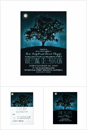 Night Sky Wedding Collection