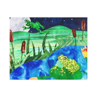 Night Songs Gallery Wrap Canvas