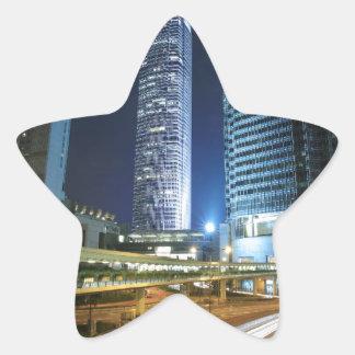 Night Speed Star Sticker