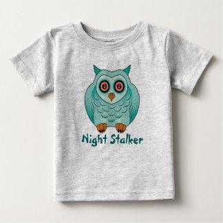 Night Stalker Owl - funny baby apparel Baby T-Shirt