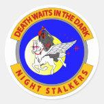 Night Stalkers Classic Round Sticker
