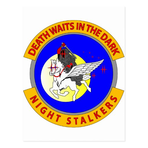 Night Stalkers Postcard