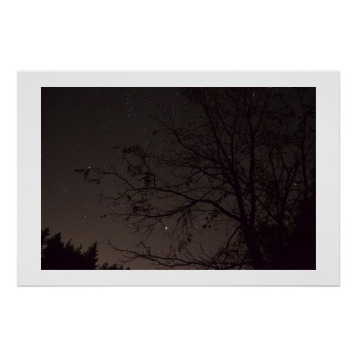 night star sky posters