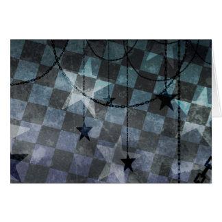 Night stars card