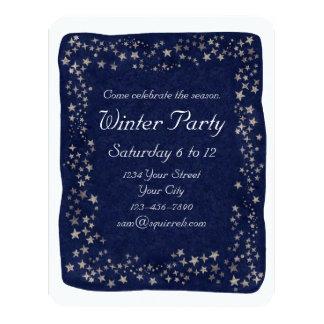 Night Stars 4.25x5.5 Paper Invitation Card