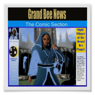 Night Stinger at the Grand Bee Chapel Poster