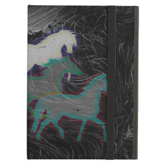 NIGHT STORM HORSE HERD iPad COVER