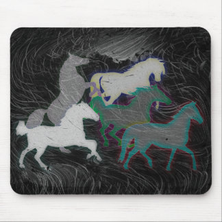 NIGHT STORM HORSE HERD MOUSE PAD