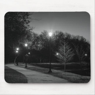 Night Stroll Mouse Pad