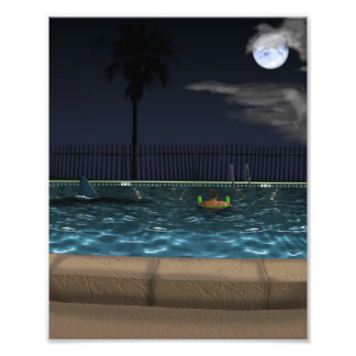 Night Swim Photograph