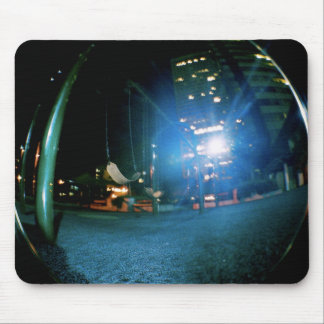 Night Swing Mouse Pad