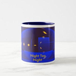 Night Tea Night Coffee Mugs