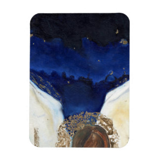 Night the angel got his wings 2014 rectangular photo magnet