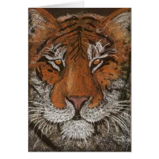 night tiger card