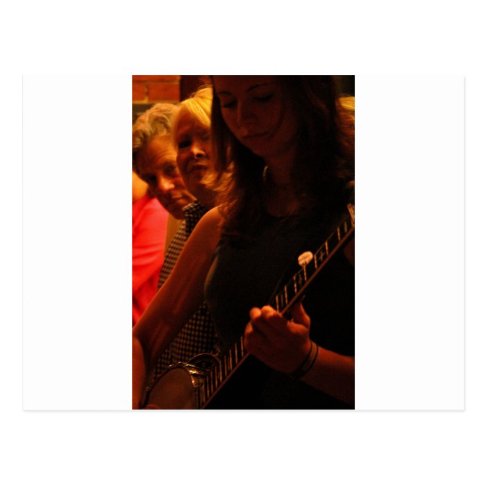 Night time Bluegrass Postcard
