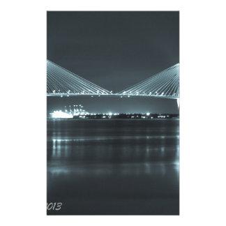 Night Time Bridge Stationery