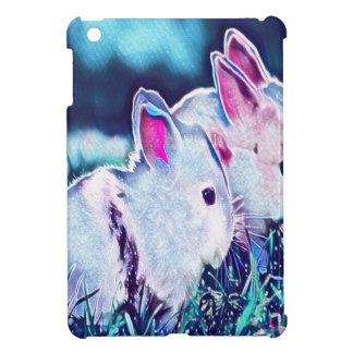 Night Time Dwarf Bunnies Cover For The iPad Mini