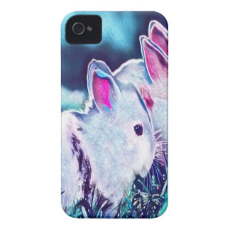 Night Time Dwarf Bunnies iPhone 4 Cover
