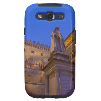 Night time in Piazza Salimbeni Siena Italy 2 Samsung Galaxy S3 Case