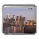 Night time panoramic view at Philadelphia Sleeve For iPads