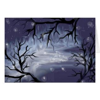 Night Time Sky Card
