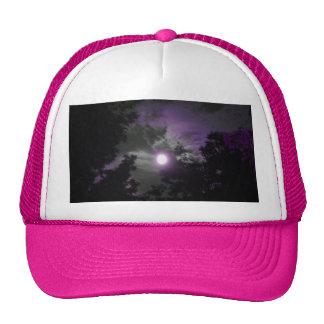 Night time sky trucker hat