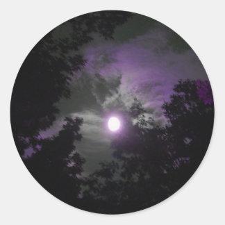 Night time sky sticker