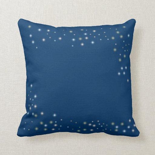 Night Time Stars Pillow