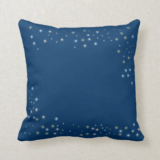 Night Time Stars Throw Pillow