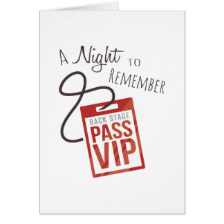 Night to Remember Card