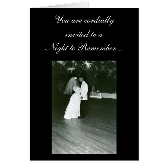 Night to Remember... Card