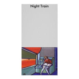 Night Train Card