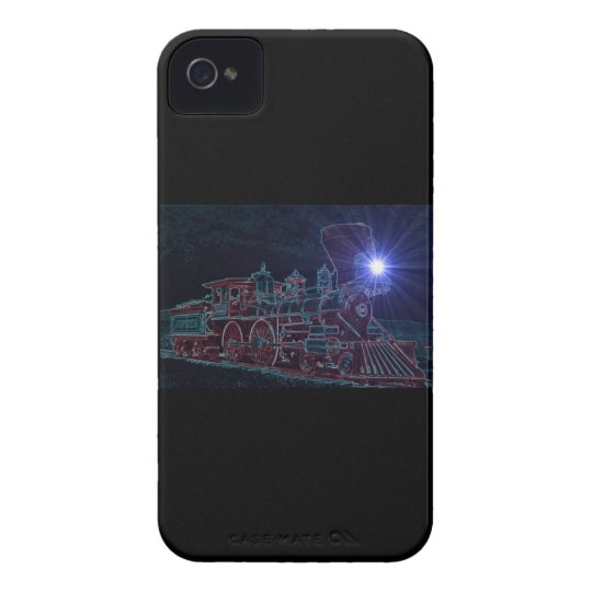 Night Train iPhone 4 Cover