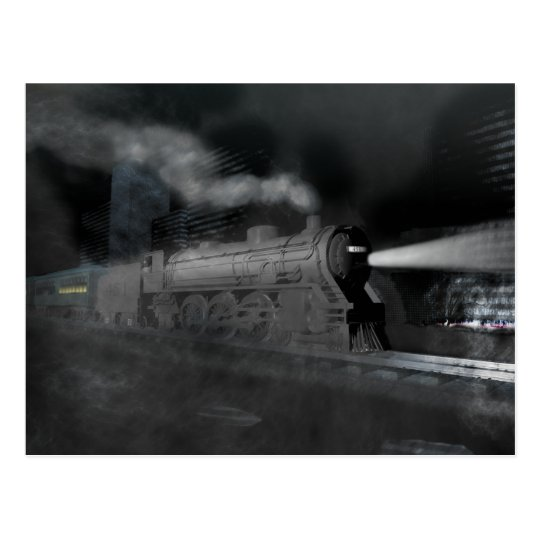 Night Train Postcard