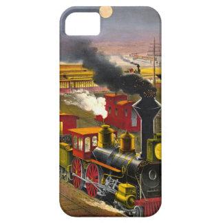 Night Trains 1876 iPhone 5 Case