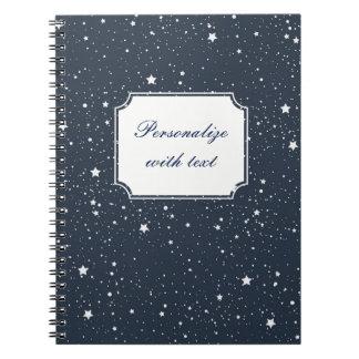 Night Under the Stars Spiral Notebook