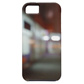 Night urban scene with diffuse lighting shop iPhone SE/5/5s case
