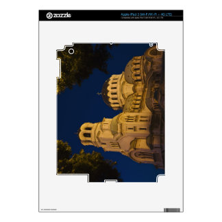 Night view of Alexander Nevski Cathedral iPad 3 Decals