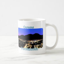 Night view of Caracas, Venezuela Coffee Mug