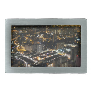 night view of city belt buckles
