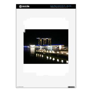 Night view of city iPad 3 skin