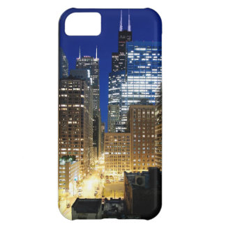 Night view of cityscape of Chicago Cover For iPhone 5C