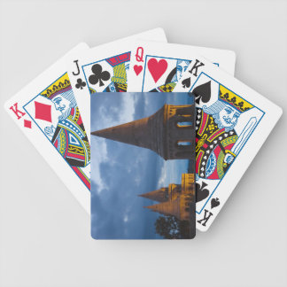 Night view of Fisherman s Bastion Castle Hil Bicycle Poker Cards