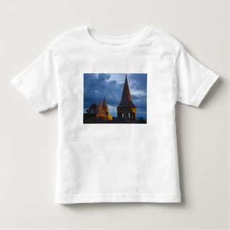 Night view of Fisherman's Bastion, Castle Hil Toddler T-shirt