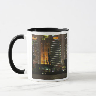Night view of highrises in Pudong New Area by Mug