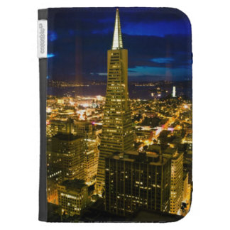 Night view of San Francisco. Cases For Kindle