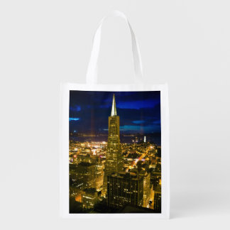 Night view of San Francisco Grocery Bags