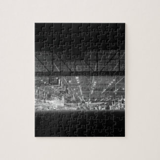 Night view of the final assembly_War image Jigsaw Puzzle
